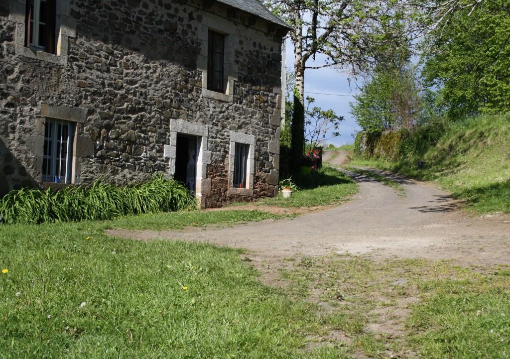 maison de Roche Bas à Saint bonnet de Salers
